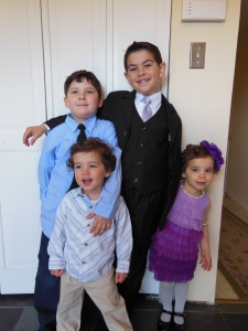 My beautiful brood. So thankful to be called Momma. It's the best title in the world.