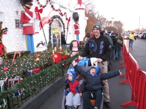 This was the last time we'd been to Storybook Land. That's Finn in the stroller.
